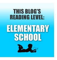 This blog's reading level: Elementary School